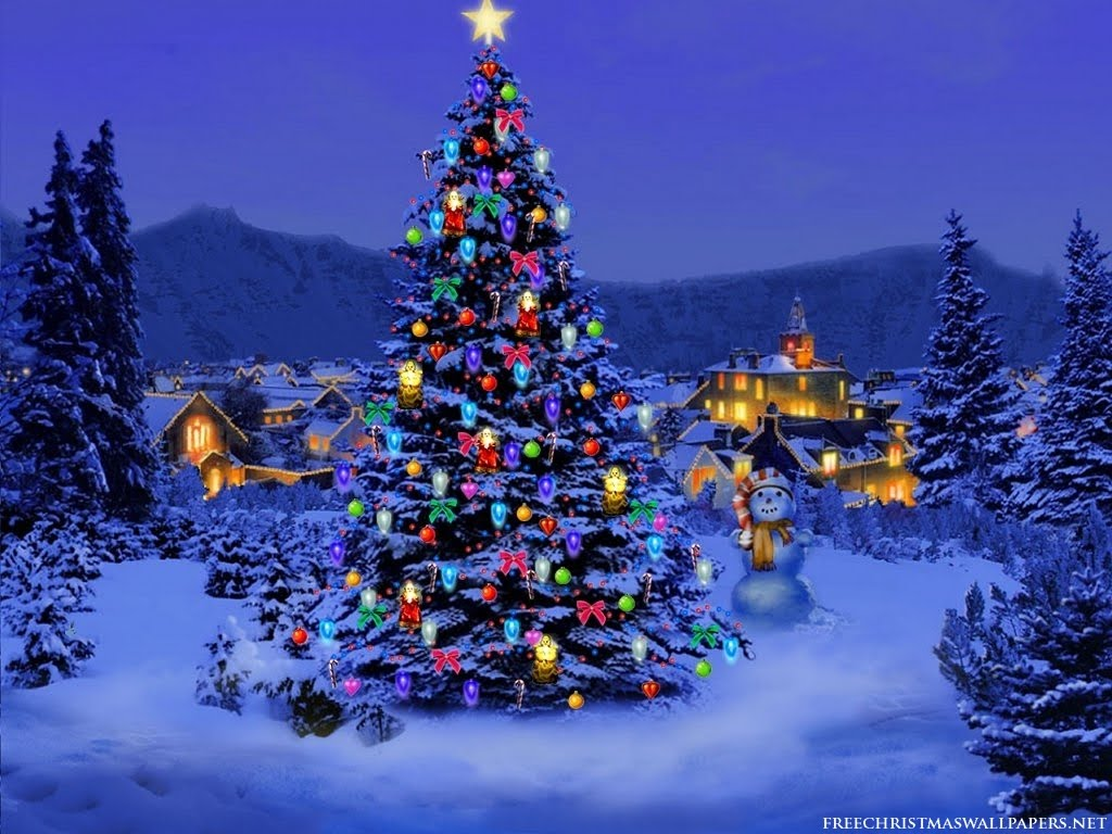christmas snow trees backgrounds mobile bible. Black Bedroom Furniture Sets. Home Design Ideas