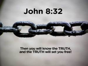 John 8:32 Bible Verse