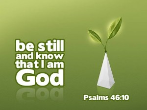 Psalm 46-10 Bible Quote